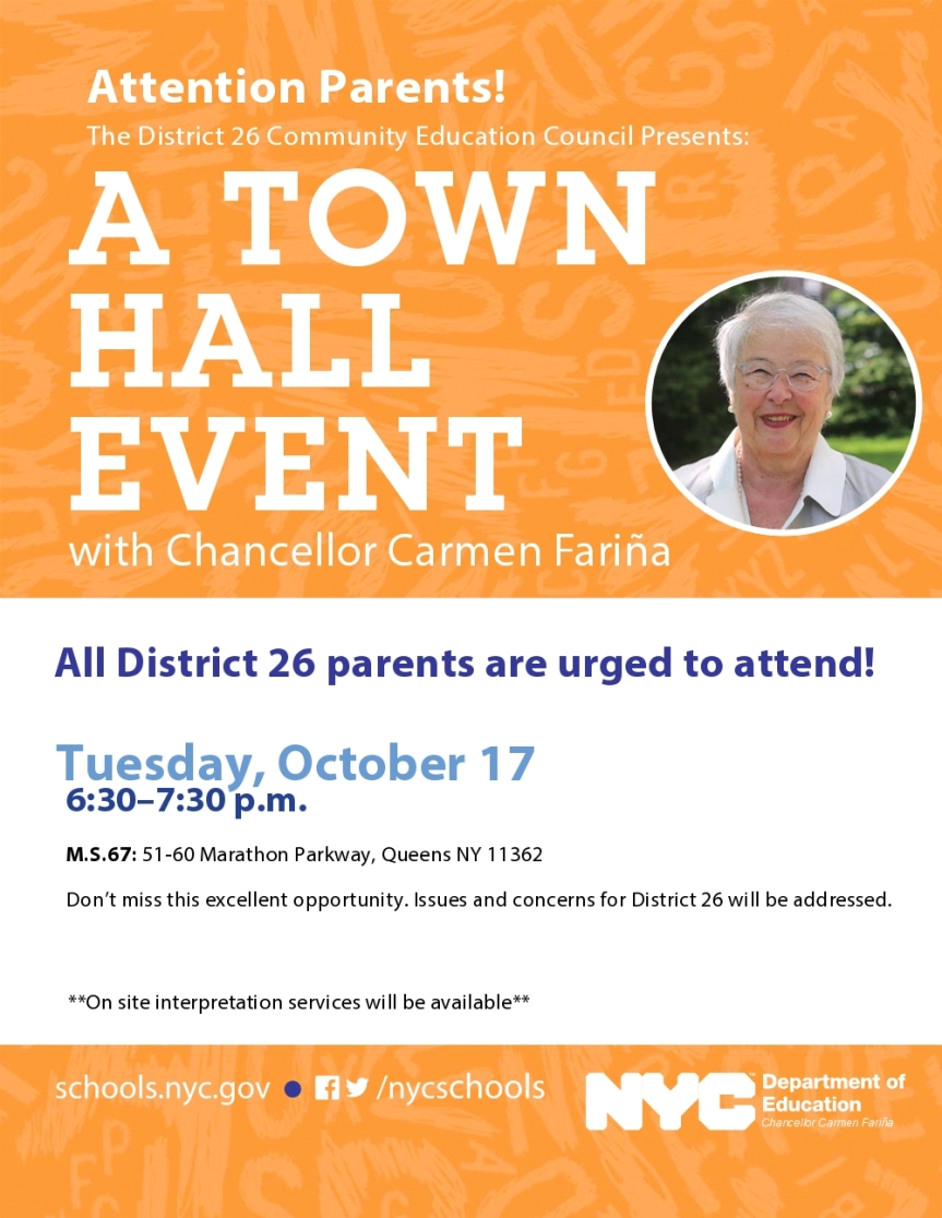 Town Hall flyer 2017