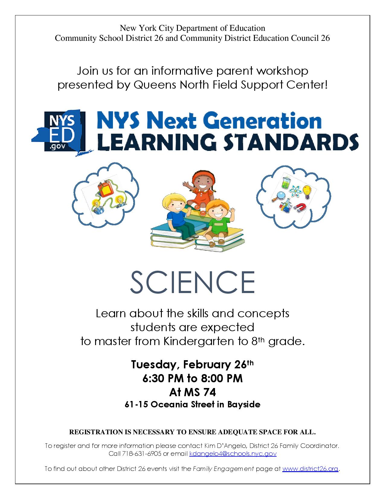 02/26 NYS Next Generation Learning Standards - P.S. 188Q ...