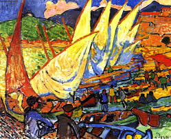 Picture of Fishing Boats, Collioure By André Derain
