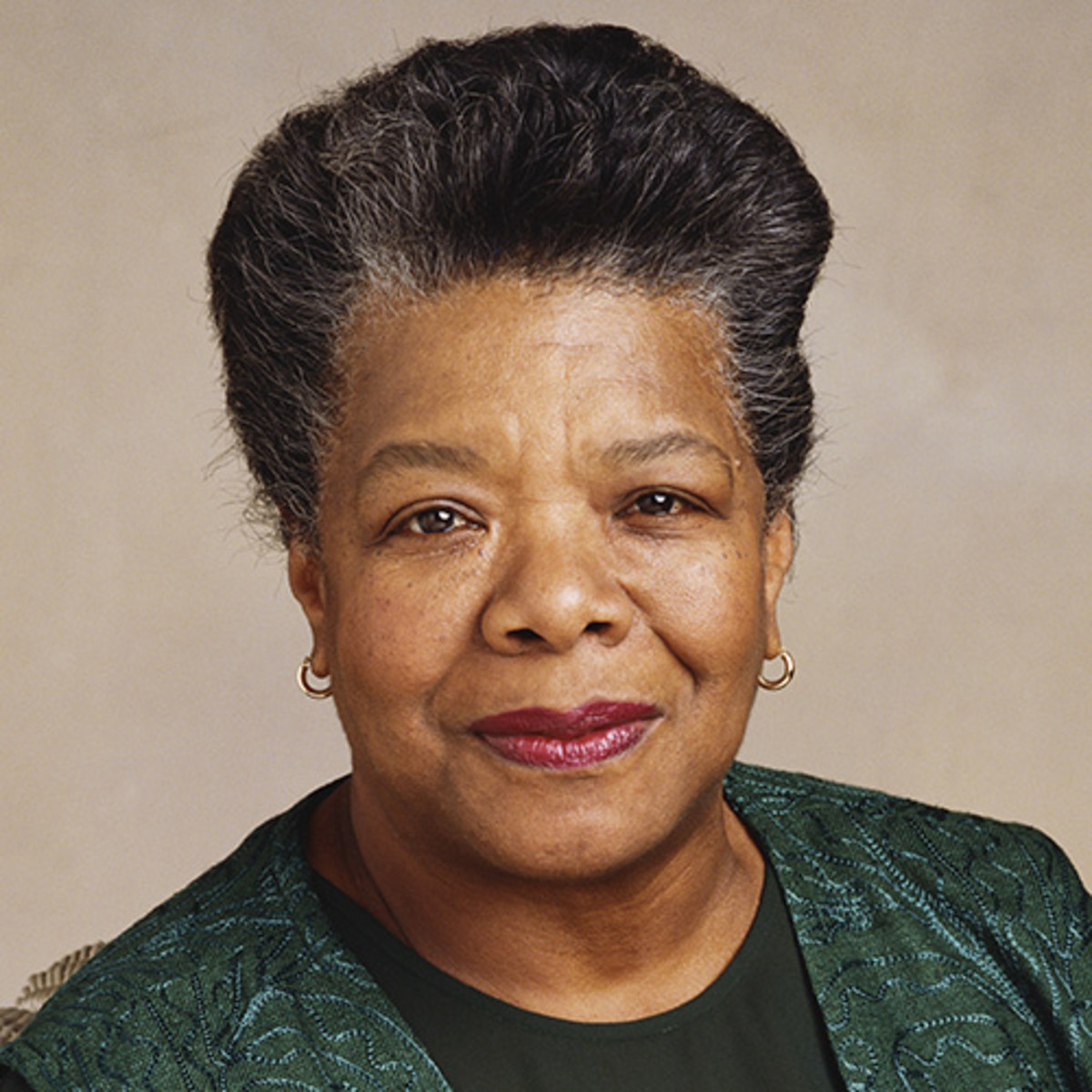 Photograph of May Angelou, P.S. 188 Celebrity of the Month, February 2020